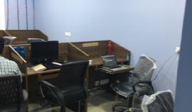 fully furnished office space for IT COMPANY