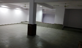 Enclosed furnished unfurnished space in basement