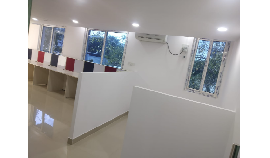 1 to 10 seaters office space Furnished at 30000 inclusive of Maintenance charges