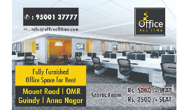 Coworking Office Space with Budget Friendly