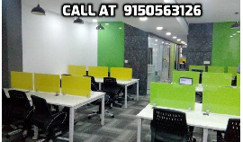10 seat Furn Office space for rent with all Amenity